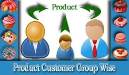 Product - Customer Group Wise