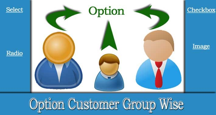 Product Option Value Customer Group Wise