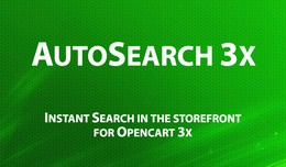 Autosearch 3x - instant search in the storefront..