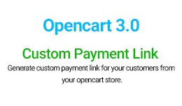 Custom payment link