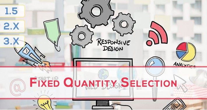 Fixed Product Quantity Selection