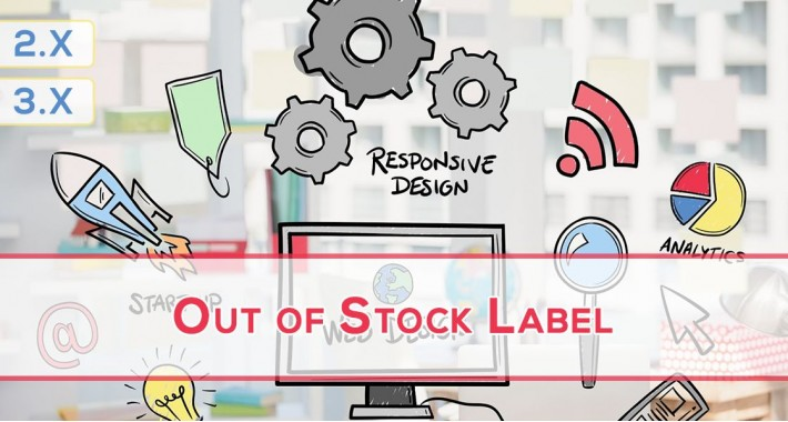 Out of Stock Label - Out of Stock Button