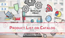 Product List on Frontpage