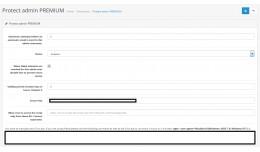 Protect Admin PREMIUM - Admin single sign on