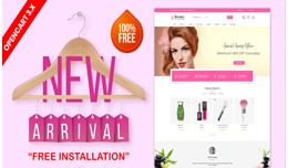 Beauty & spa OpenCart 3.x  Theme (Beauty,Cos..