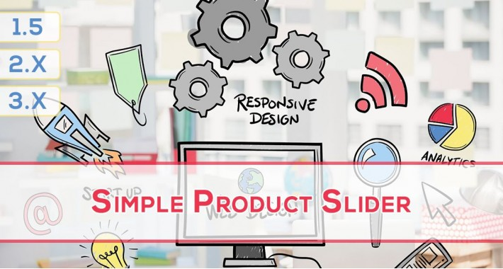 Simple Product Slider (4 in 1) with Product Tab Support