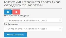 Move All Products From One Category To Another 2.x