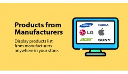 Products From Manufacturers