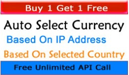 Auto Select Currency Based On IP / Based On Ship..