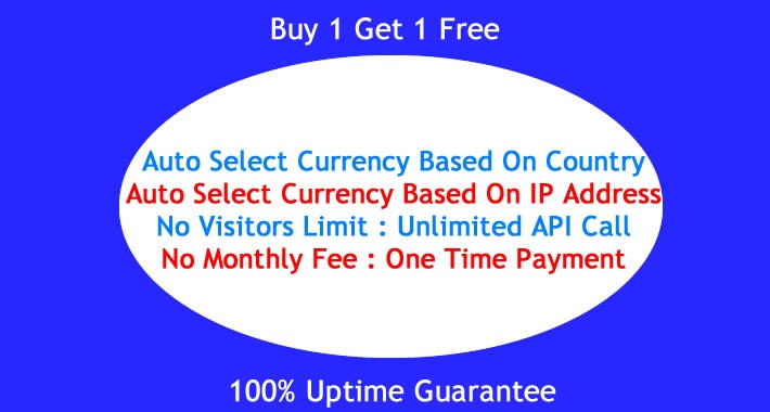 OpenCart - Auto Select Currency Based On IP / Based On