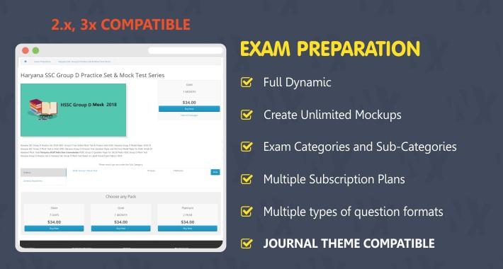 Online Exam Preparation