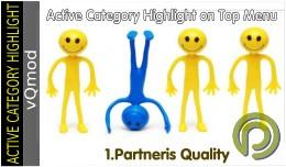 Active Category Highlight on Top Menu (vQmod)