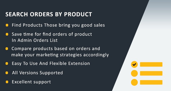 Search Orders By Product