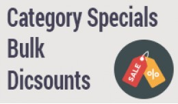 Category Specials – Bulk Discounts