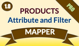 Product Attribute/Category/Manufacturer & Fi..