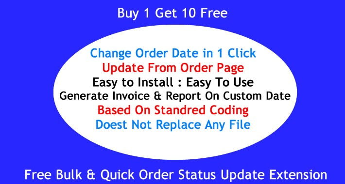 Change Order Date TO Any Future Or Past, Make Custom Invoice