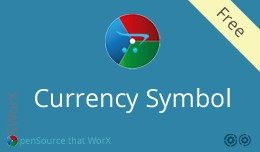 Admin Dashboard Currency Symbol