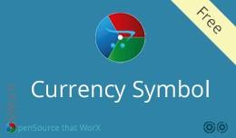 Admin Dashboard Currency Symbol