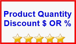 Product Quantity Discount $ OR %