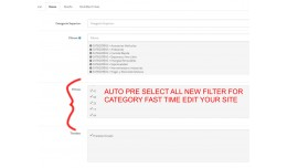VQMOD - LOAD FILTERS TO CATEGORIES PRE SELECTING..