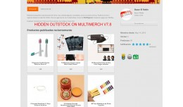 HIDDEN PRODUCT OUTSTOCK MULTIMERCH V8.7 AND OTHE..