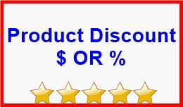 Product Discount $ OR %