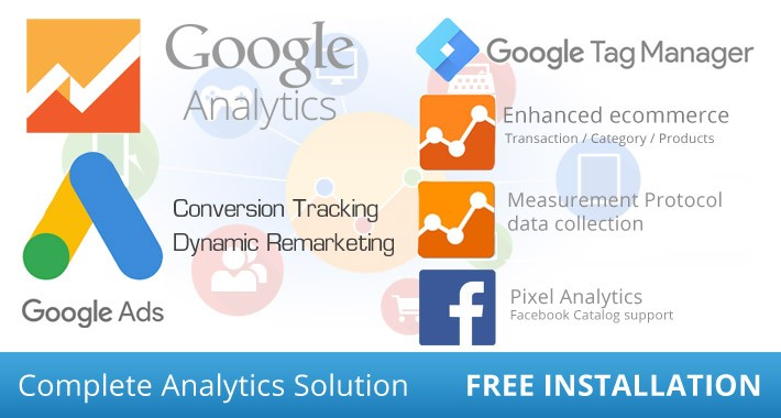 Tag Manager Google Analytics Enhanced Ecommerce Ads Pixel