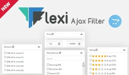 Flexi product filter (Super advance filter)
