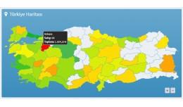 Türkiye Satış Haritası