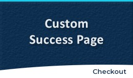 Edit Success Page | Custom Success Page