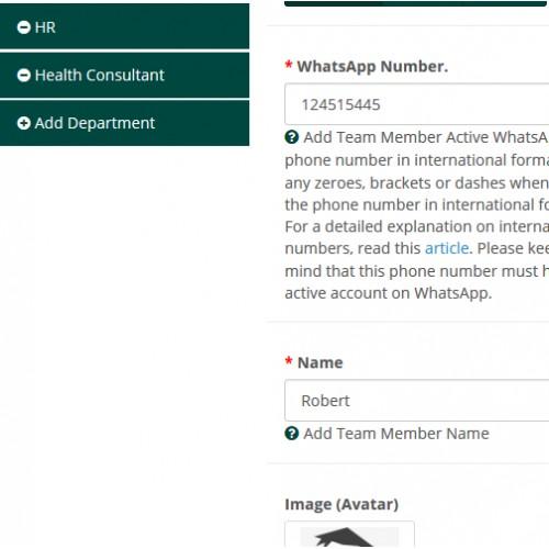 OpenCart - WhatsApp Chat Tool