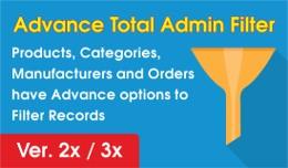 Advance Total Admin Filter