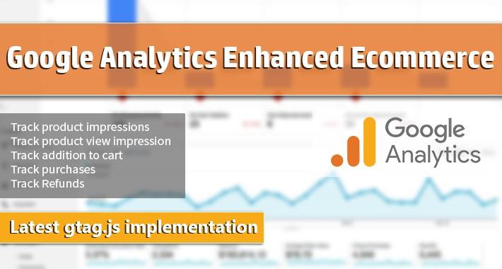 Google Analytics Enhanced Ecommerce Tracking for OpenCart