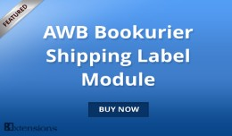 Opencart AWB Bookurier Shipping Label Module