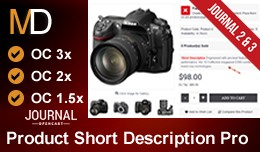 Product Short Description Pro - Journal 2 & ..