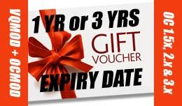 Opencart Gift Voucher Certificate Expiry 1 or 3y..