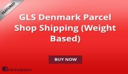 GLS Denmark Parcel Shop Shipping (Weight Based) ..