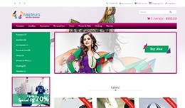Store Online Product Selling Responsive Template