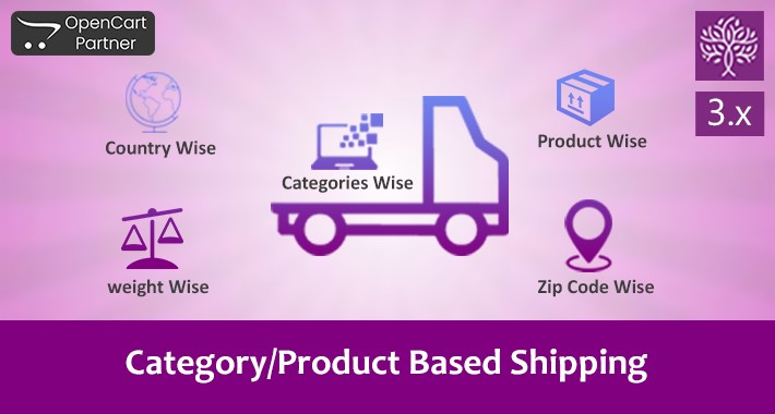 Product and Category Based Shipping