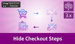 Hide/Skip Checkout Steps - Quick Checkout