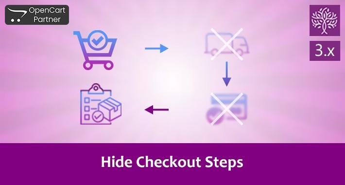 Hide/Skip Checkout Steps - Quick Checkout