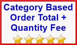 Category Based Order Total + Quantity Fee