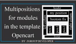 Custom positions in layouts Opencart