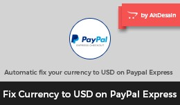 Fix Currency to USD on PayPal Express Checkout