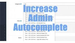 Set Admin Autocomplete Limit