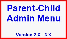Parent-Child Admin Menu