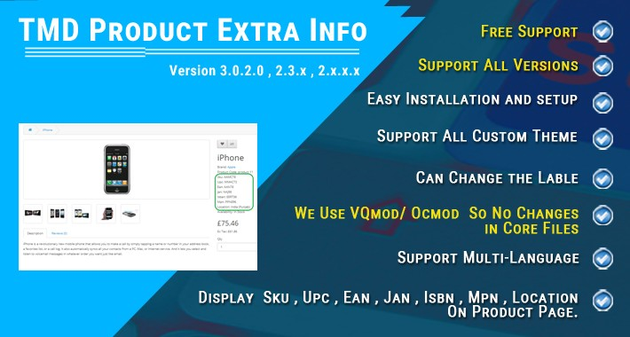 Product Extra Info