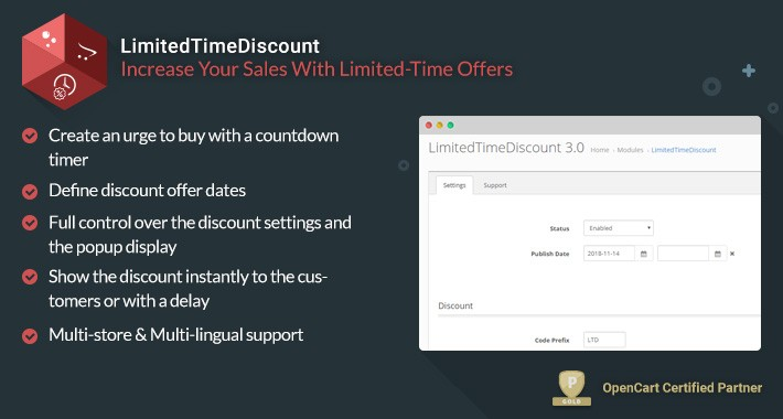 LimitedTimeDiscount - Boost Your Sales With Limited-Time Offers