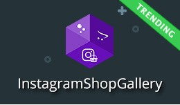 Instagram Shop Gallery - Shoppable Instagram Fee..