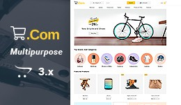eCom - Multipurpose Responsive Opencart 3.x Theme